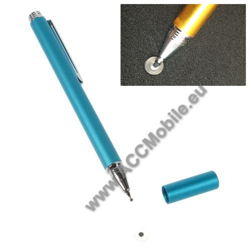 Érintőképernyő ceruza - kapacitív kijelzőhöz, KÉZÍRÁSRA, RAJZOLÁSRA IS ALKALMAS - VILÁGOSKÉK