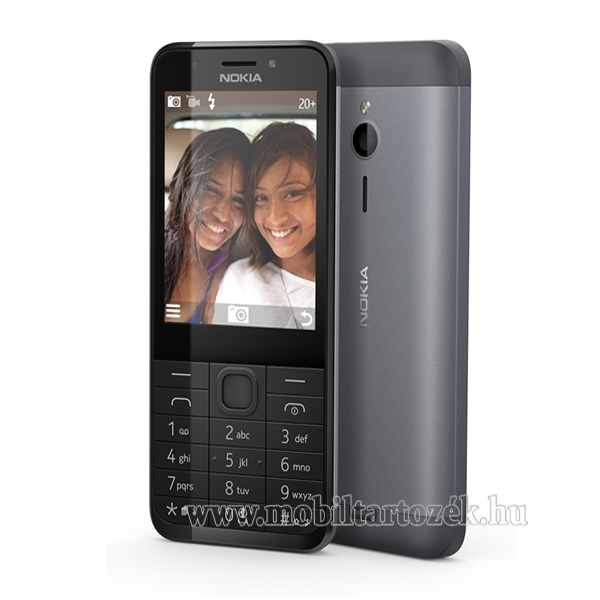 Nokia 230, Dual SIM, Dark Silver