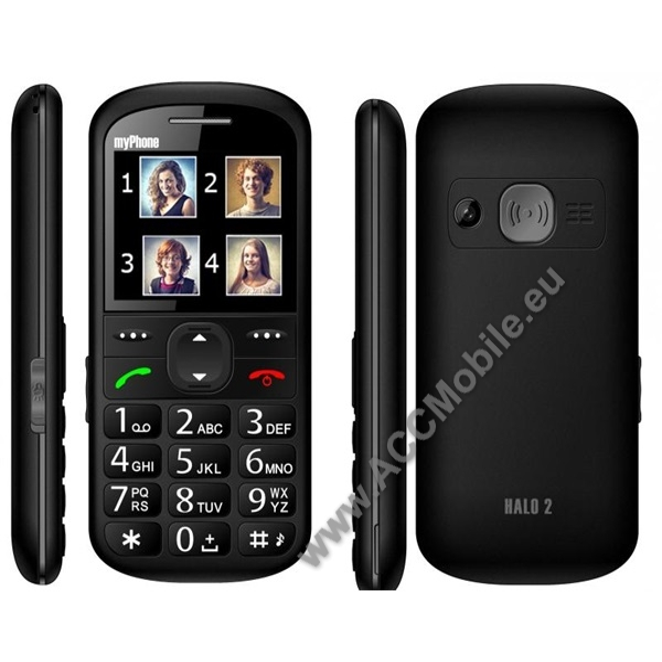 myPhone Halo 2, fekete