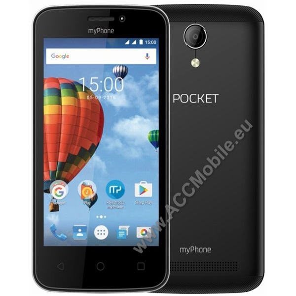 myPhone Pocket, fekete