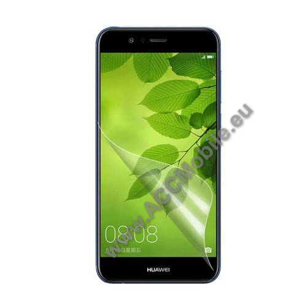 Képernyővédő fólia - HD Clear - 1db, törlőkendővel - HUAWEI nova 2 plus