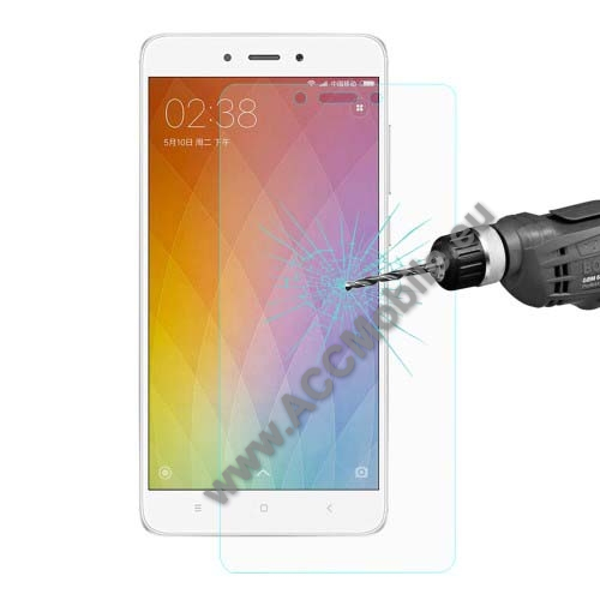 Előlap védő karcálló edzett üveg - 0,26mm, arc edge - Xiaomi Redmi Note 4 - GYÁRI