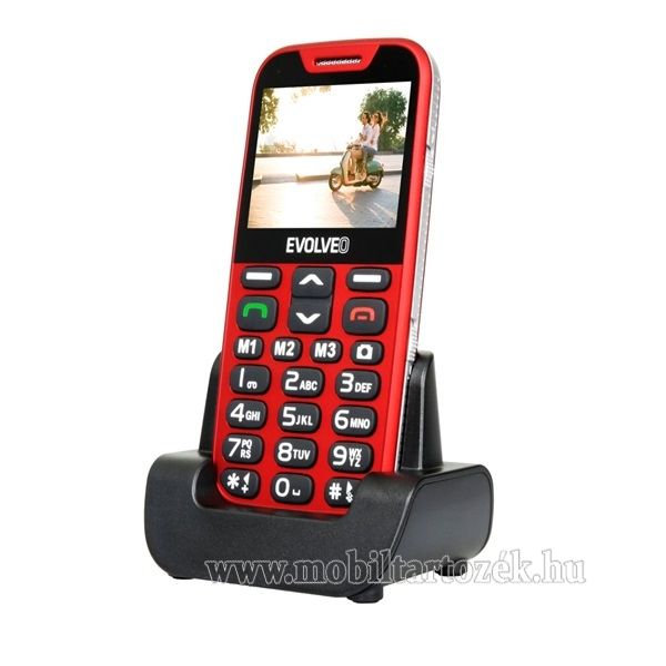 Evolveo EasyPhone XD (EP600), piros