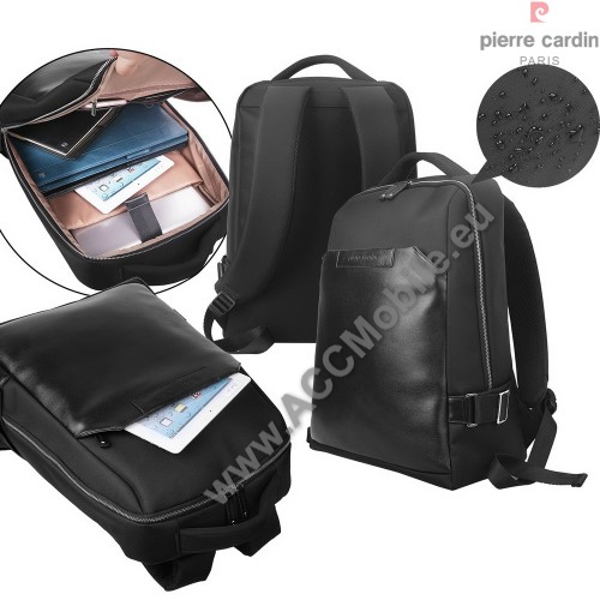 PIERRE CARDIN hátizsák - MacBook, Laptop hordtáska,15-17
