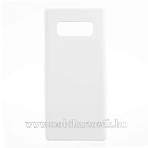 Műanyag védő tok / hátlap - FEHÉR - Hybrid Protector - SAMSUNG SM-N950F Galaxy Note8