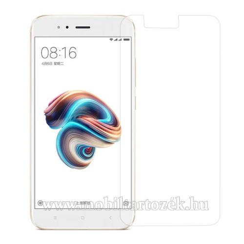 Előlap védő karcálló edzett üveg - 0,3 mm vékony, 9H, Arc Edge - Xiaomi Mi 5X / Xiaomi Mi A1