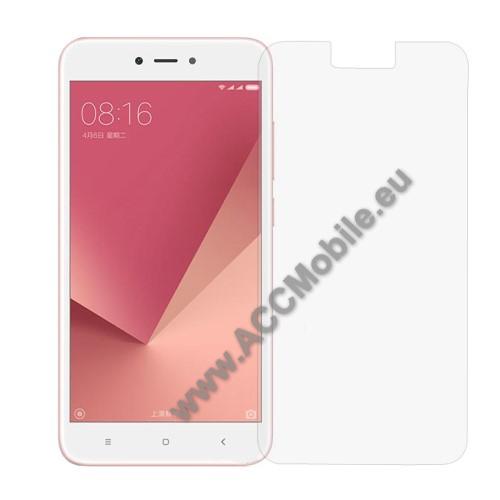 Elõlap védõ karcálló edzett üveg - 0,3 mm vékony, 9H, Arc Edge - Xiaomi Redmi Note 5A / Xiaomi Redmi Note 5A Prime