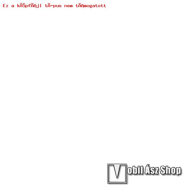 Műanyag védő tok / keret - márvány mintás - FEHÉR - Apple Watch 38mm