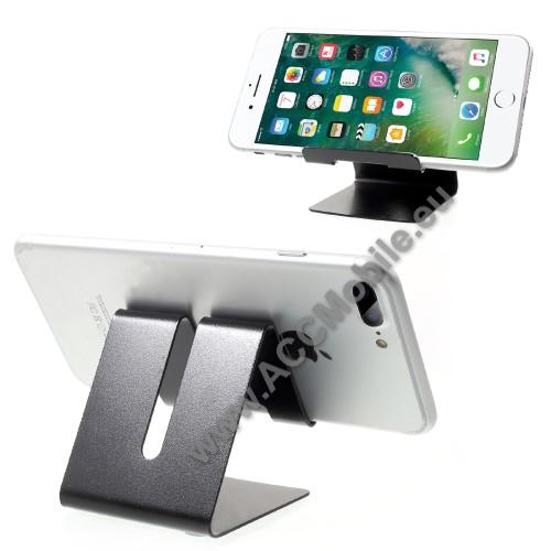 HUAWEI P8 liteUNIVERZÁLIS asztali telefon tartó, állvány - FEKETE