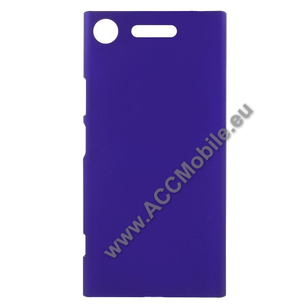 Műanyag védő tok / hátlap - SÖTÉTKÉK - Hybrid Protector - Sony Xperia XZ1