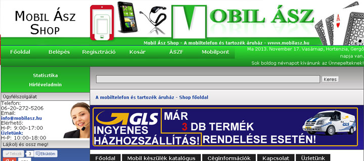 Mobil �sz Shop