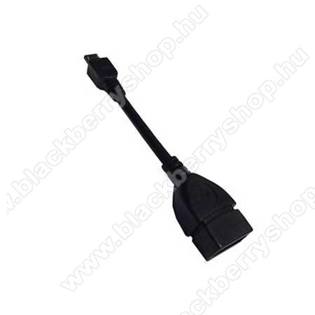 BLACKBERRY DTEK50Adapter kábel, USB/pendrive csatlakoztatásához, OTG (NOKIA CA-157 kompatibilis) utángyártott