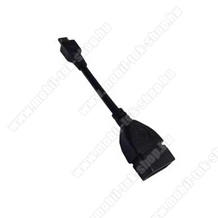 Adapter kábel, USB/pendrive csatlakoztatásához, OTG (NOKIA CA-157 kompatibilis) utángyártott