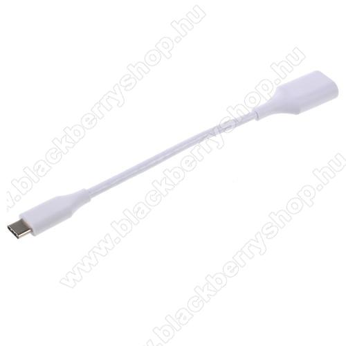 BLACKBERRY Evolve XAdapter kábel, USB/pendrive csatlakoztatásához - OTG / USB 3.1 Type C - FEHÉR