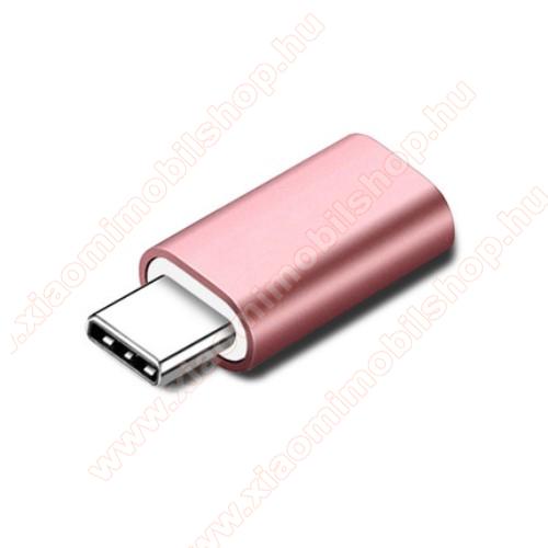 Xiaomi Mi True Wireless Earphones LiteAdapter Lightning-ot USB 3.1 Type C-re alakítja át - Adatátvitelre és töltésre képes, zenehallgatásra nem! - ROSE GOLD