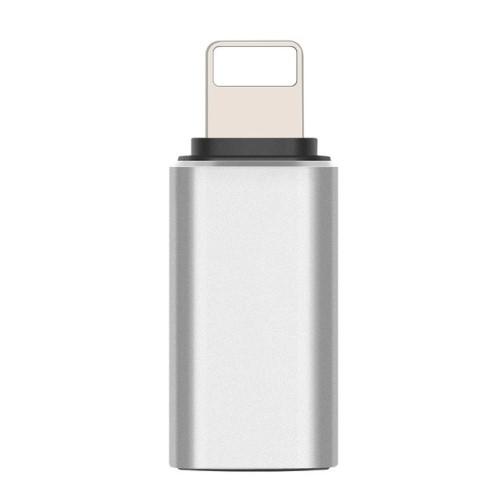 Adapter USB 3.1 Type C-t Lightning-ra alakítja - Adatátvitelre is képes - EZÜST