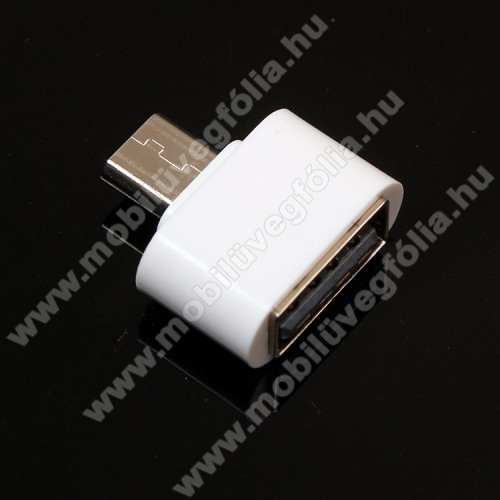 DJI Mavic ProAdapter - USB/pendrive csatlakoztatásához - OTG / microUSB - FEHÉR - SUPERMINI!