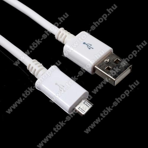 Huawei Enjoy 10Adatátvitel adatkábel - 1m, USB / micro USB - FEHÉR