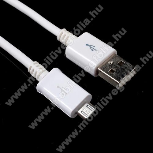 HUAWEI Enjoy 9sAdatátvitel adatkábel - 1m, USB / micro USB - FEHÉR