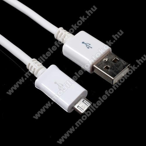 HUAWEI Honor 8XAdatátvitel adatkábel - 1m, USB / micro USB - FEHÉR