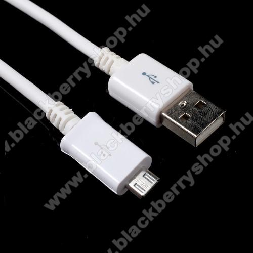BLACKBERRY 8520 CurveAdatátvitel adatkábel - 1m, USB / micro USB - FEHÉR