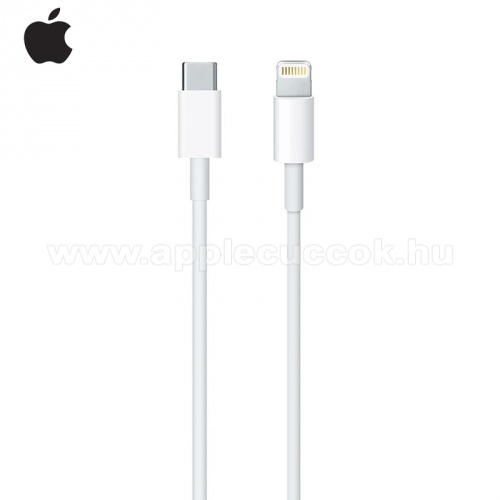 APPLE iPad Pro 12.9 (2017)Adatátvitel adatkábel (Type-C / lightning 8pin, 2m) FEHÉR - MKQ42ZM/A - GYÁRI