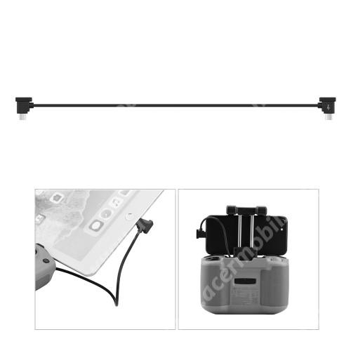 ACER Liquid Z3 Adatátvitel adatkábel / USB töltő - Type-C / microUSB - 30cm hosszú, derékszögű 90°-os - FEKETE