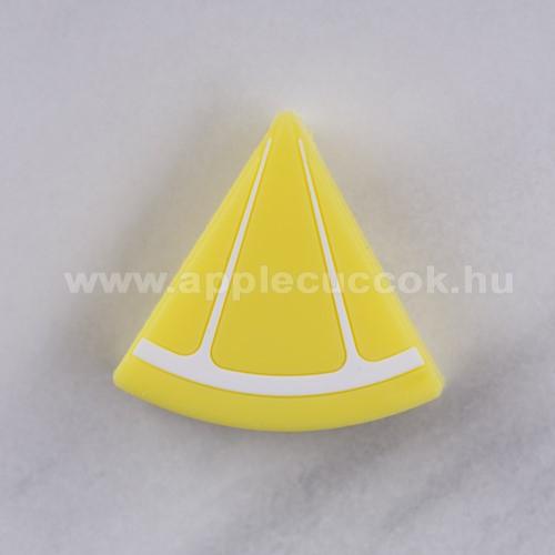 Adatátvitel adatkábel / USB töltő védő szilikon - 1db - CITROM MINTÁS