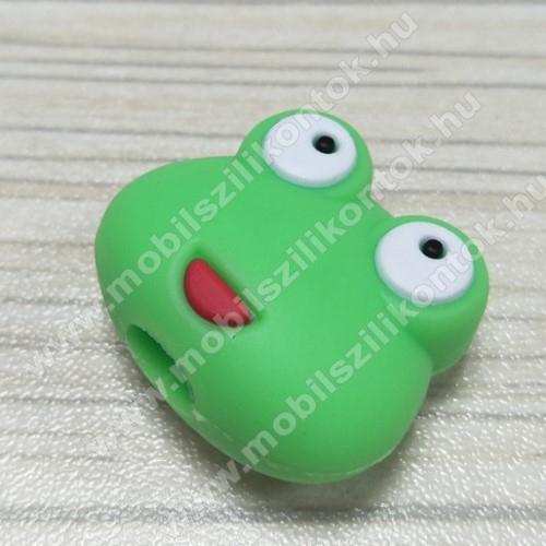 Adatátvitel adatkábel / USB töltő védő szilikon - 1db - BÉKA MINTÁS