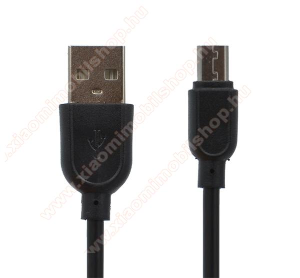 Xiaomi Mi PlayAdatátviteli kábel / USB töltő - microUSB speciális, 8 mm hosszított fej, 1m - FEKETE