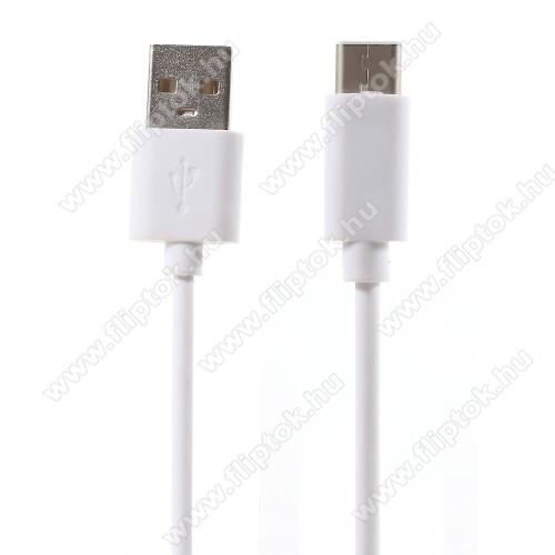 NOKIA 7.1Adatátviteli kábel / USB töltő - USB 3.1 Type C - FEHÉR - 80cm