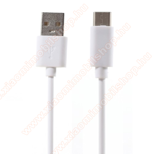 Xiaomi Mi True Wireless Earphones 2SAdatátviteli kábel / USB töltő - USB 3.1 Type C - FEHÉR - 80cm