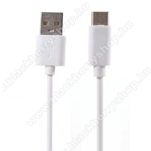 BLACKBERRY Evolve XAdatátviteli kábel / USB töltő - USB 3.1 Type C - FEHÉR - 80cm