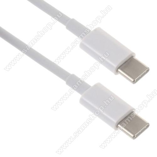 SAMSUNG SM-A600F Galaxy A6 (2018)Adatátviteli kábel / USB töltő - USB Type-C / USB Type-C - 2m - FEHÉR