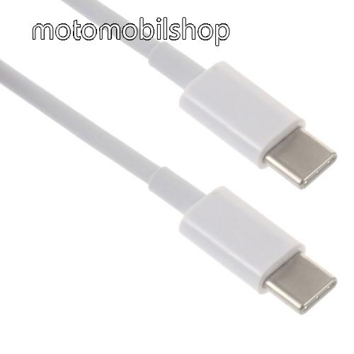 MOTOROLA Moto Z2 Play Adatátviteli kábel / USB töltő - USB Type-C / USB Type-C - 2m - FEHÉR