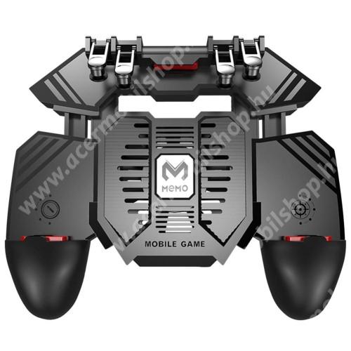 """ACER Liquid Jade (S55)AK77 UNIVERZÁLIS Kontroller / Joystick - ravasz FPS játékokhoz, gamepad, beépített hűtőventilátor, beépített 4000mAh-os akkumulátor tölthető a telefon játék közben, 67-90mm nyíló bölcső, 4,7-6.5""""-os méretig ajánlott - FEKETE"""