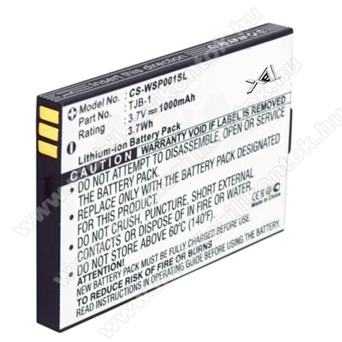 Akku 1000 mAh LI-ION (TJB-1 kompatibilis) Binatone B200/B220/SpeakEasy Mobile Plus