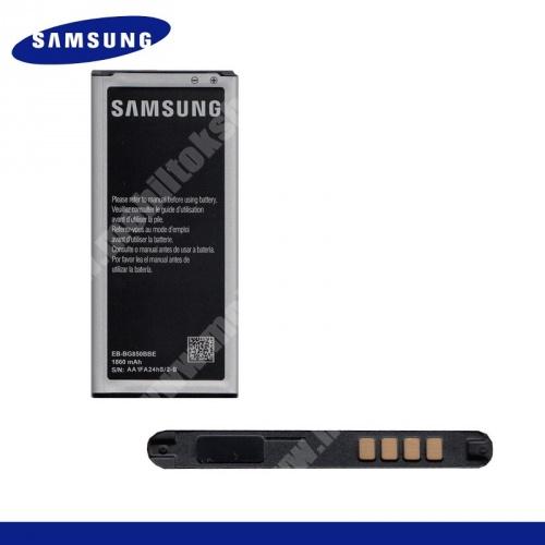 Akku 1860 mAh LI-ION - EB-BG850BBE - SAMSUNG SM-G850F Galaxy Alpha - GYÁRI - Csomagolás nélküli