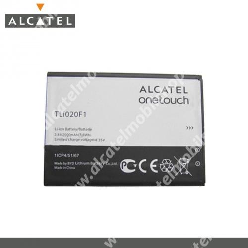 Akku 2000 mAh LI-ION - CAB2000010C1 - ALCATEL OT-6036 Idol 2 Mini S - GYÁRI - Csomagolás nélküli