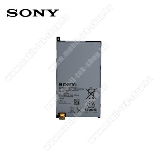 Akku 2300 mAh LI-ION - 1274-3419 - SONY Xperia Z1 Compact (D5503) - GYÁRI - Csomagolás nélküli