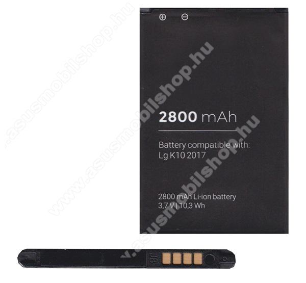 Akku 2800 mAh LI-ION (BL-46G / EAC63360001 kompatibilis) - LG K10 (2017)
