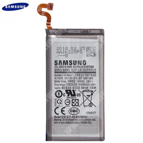 Akku 3000 mAh LI-ION (belső akku, beépítése szakértelmet igényel!) - EB-BG960ABE / GH82-15963A - Samsung Galaxy S9 (SM-G960) - GYÁRI