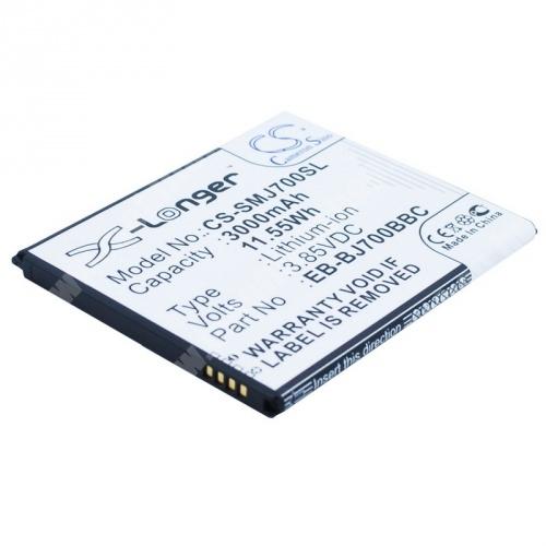 Akku 3000 mAh LI-ION - EB-BJ700BBC kompatibilis - SAMSUNG Galaxy J7 - SM-J700
