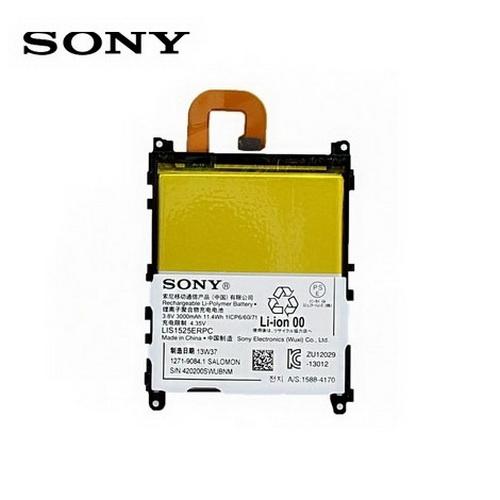 Akku 3000 mAh LI-ION - SONY Xperia Z1 (C6903) - GYÁRI - Csomagolás nélküli
