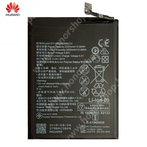 HUAWEI Honor 10 Akku 3400 mAh LI-Polymer (belső akku, beépítése szakértelmet igényel!) - HB396285ECW - Huawei P20, Huawei Honor 10 - GYÁRI