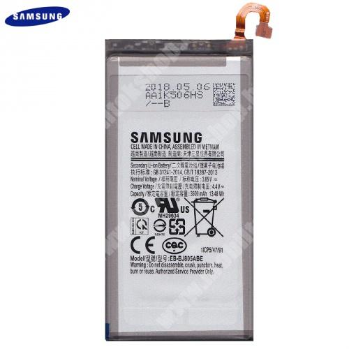 Akku 3500 mAh LI-ION (belső akku, beépítése szakértelmet igényel!) - EB-BJ805ABE / GH82-16480A - Samsung Galaxy A6+ (2018) SM-A605F - GYÁRI