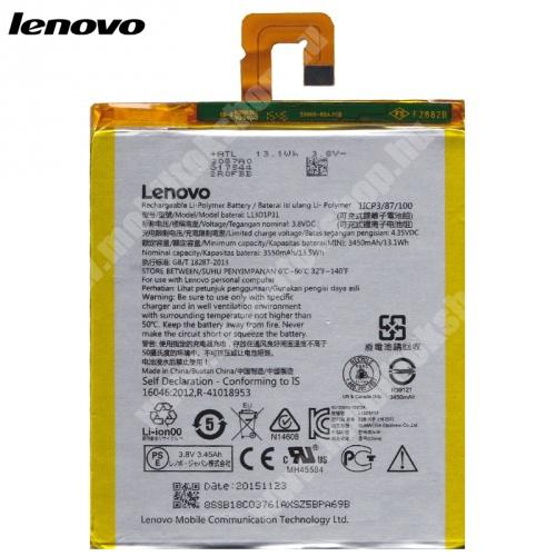 Akku 3550 mAh LI-Polymer (belső akku, beépítése szakértelmet igényel!) - L13D1P31 - Lenovo Tab A3500 (A7-50) - GYÁRI