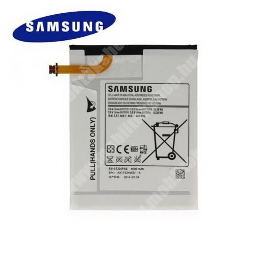 Akku 4000 mAh LI-ION - SAMSUNG SM-T230 Galaxy Tab 4 7.0 WiFi - GYÁRI - Csomagolás nélküli