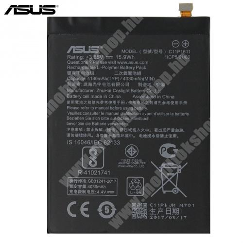 Akku 4130 mAh LI-ION - C11P1611 - ASUS Zenfone 3 Max (ZC553KL)