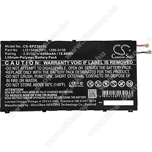 Akku 4200 mAh LI-Polymer (belső akku, beépítése szakértelmet igényel, LIS1569ERPC kompatibilis) - SONY Xperia Tablet Z3 Compact - CS-SPZ300SL - GYÁRI